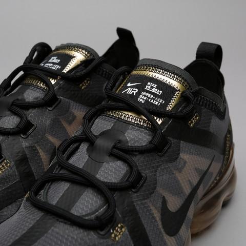 мужские чёрные, золотые  кроссовки nike air vapormax 2019 AR6631-002 - цена, описание, фото 5