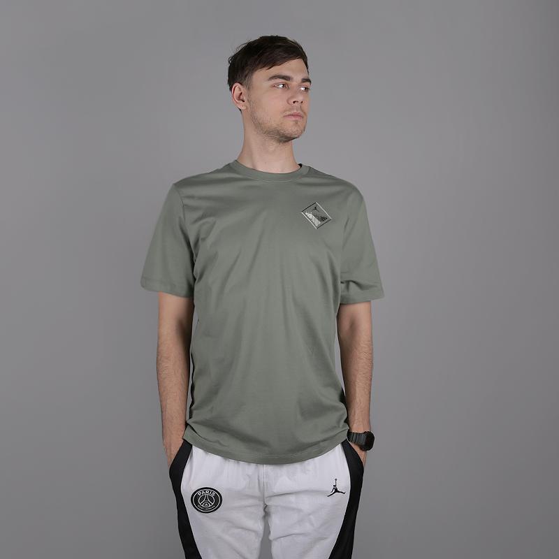 Футболка Jordan, Зеленый