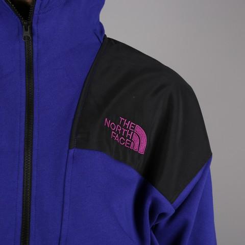 мужскую синюю, чёрную  толстовка the north face 92 rage fleece hoodie T93MIE9QX - цена, описание, фото 2