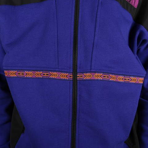мужскую синюю, чёрную  толстовка the north face 92 rage fleece hoodie T93MIE9QX - цена, описание, фото 3