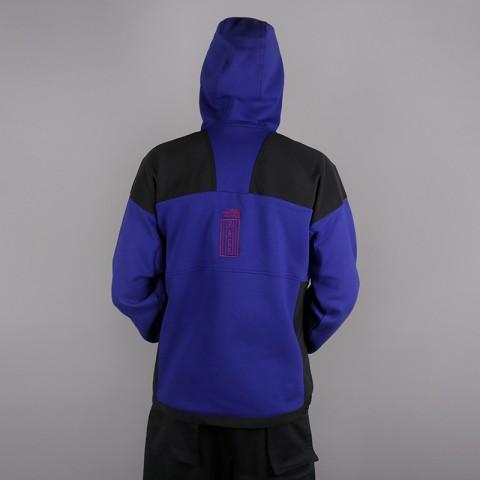 мужскую синюю, чёрную  толстовка the north face 92 rage fleece hoodie T93MIE9QX - цена, описание, фото 4