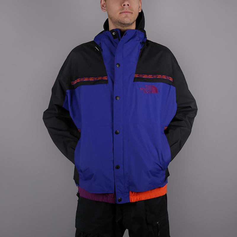 мужскую синюю, чёрную  куртку the north face 92 retro rage rain jacke T93MIB9QX - цена, описание, фото 1