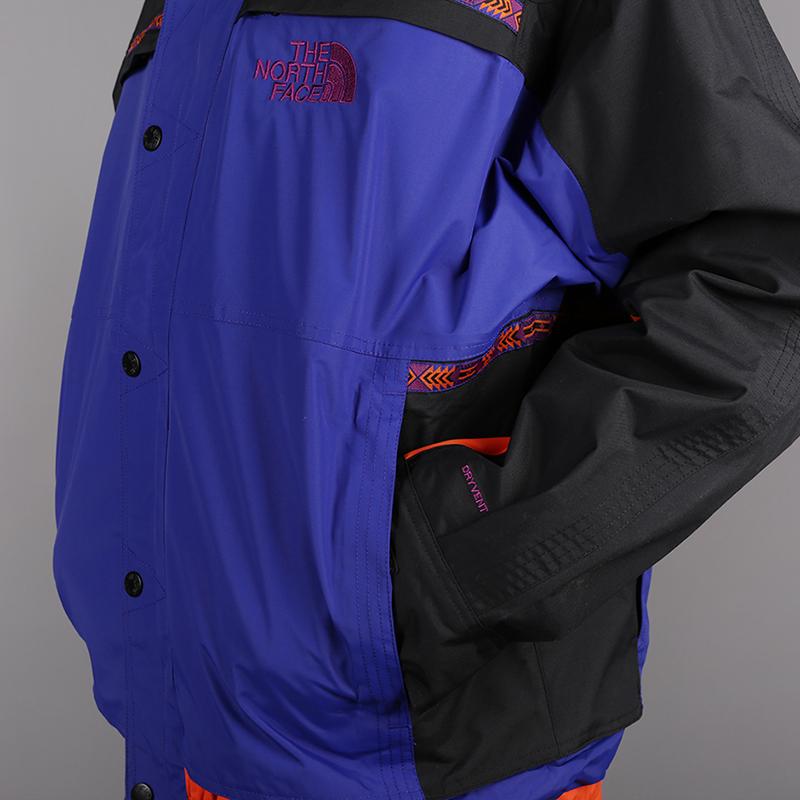 мужскую синюю, чёрную  куртку the north face 92 retro rage rain jacke T93MIB9QX - цена, описание, фото 7