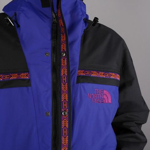 мужскую синюю, чёрную  куртку the north face 92 retro rage rain jacke T93MIB9QX - цена, описание, фото 8