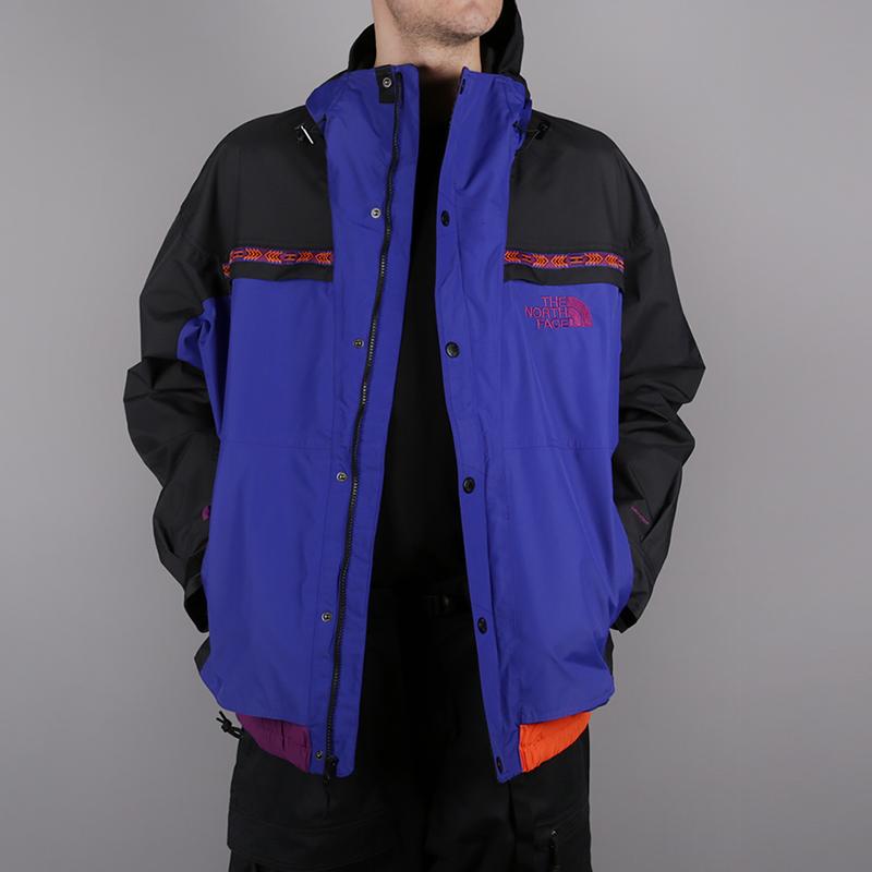 мужскую синюю, чёрную  куртку the north face 92 retro rage rain jacke T93MIB9QX - цена, описание, фото 2