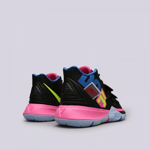 мужские чёрные  кроссовки nike kyrie 5 AO2918-003 - цена, описание, фото 3