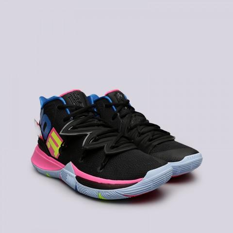 мужские чёрные  кроссовки nike kyrie 5 AO2918-003 - цена, описание, фото 4