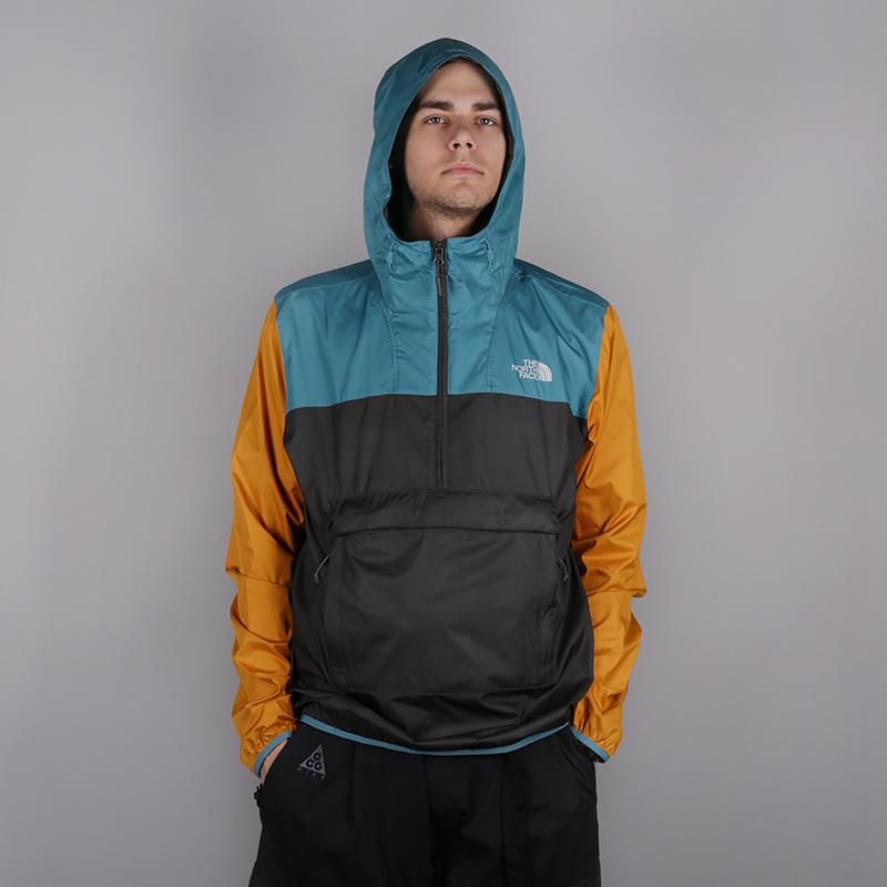 мужскую серую  куртку the north face fanorak T93FZLB52 - цена, описание, фото 1