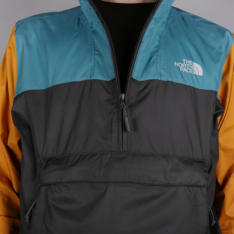 мужскую серую  куртку the north face fanorak T93FZLB52 - цена, описание, фото 4