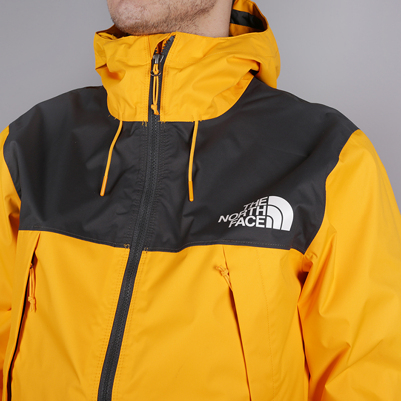 мужскую жёлтую  куртку the north face 1990 mountain quest jacket T92S51H6G - цена, описание, фото 3