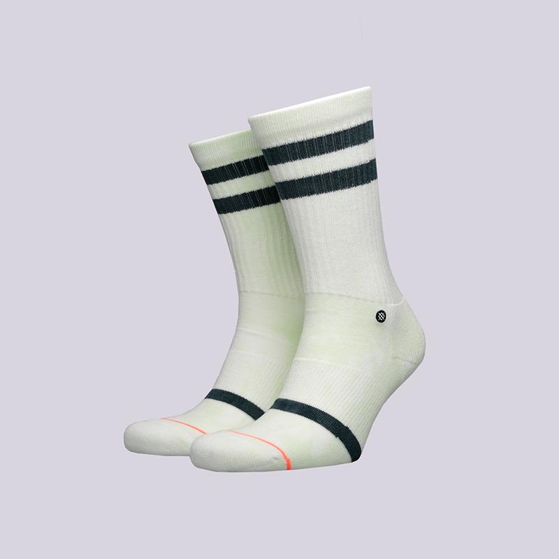 женские белые  носки stance classic uncommon crew w556a18unc-green - цена, описание, фото 1
