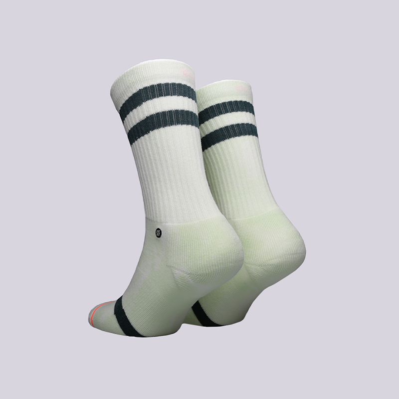 женские белые  носки stance classic uncommon crew w556a18unc-green - цена, описание, фото 2