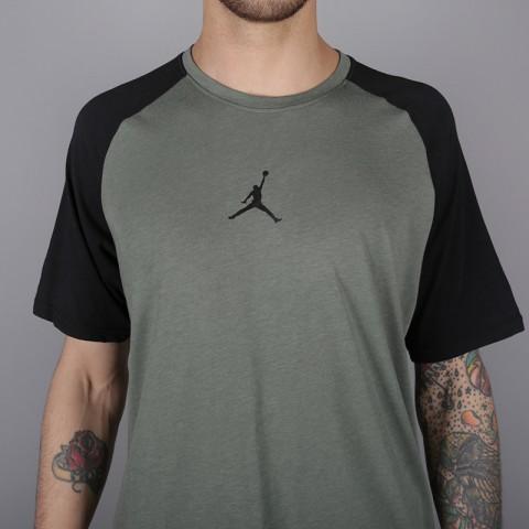 мужскую зелёную  футболка jordan 23 alpha AO8861-351 - цена, описание, фото 2
