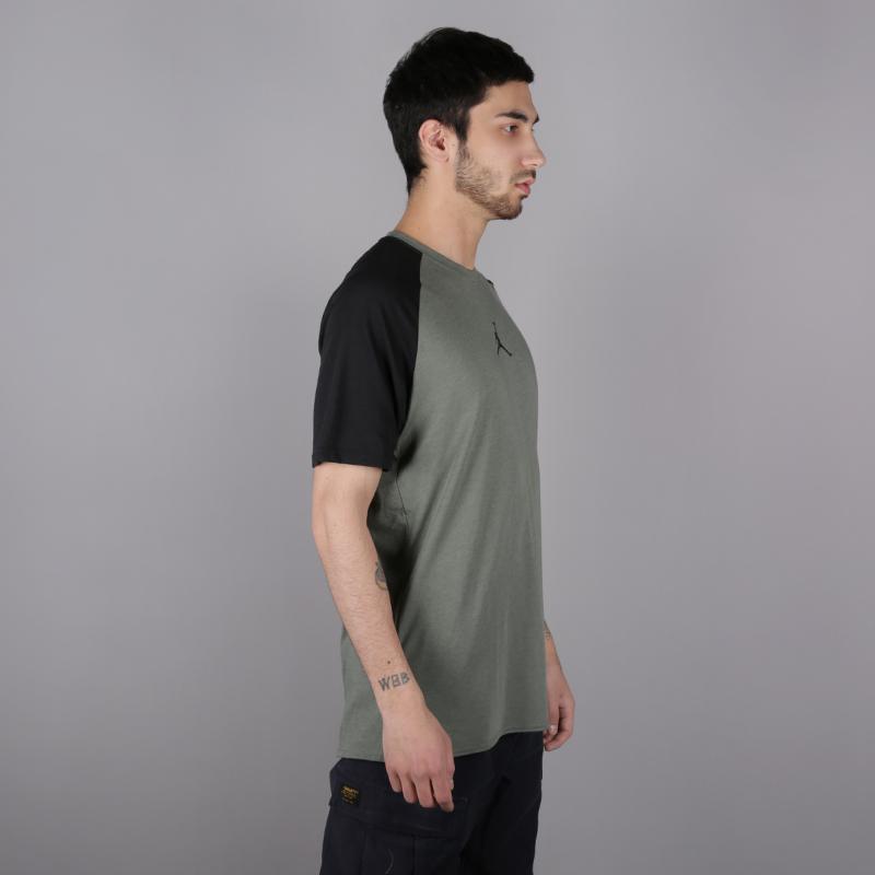мужскую зелёную  футболка jordan 23 alpha AO8861-351 - цена, описание, фото 3
