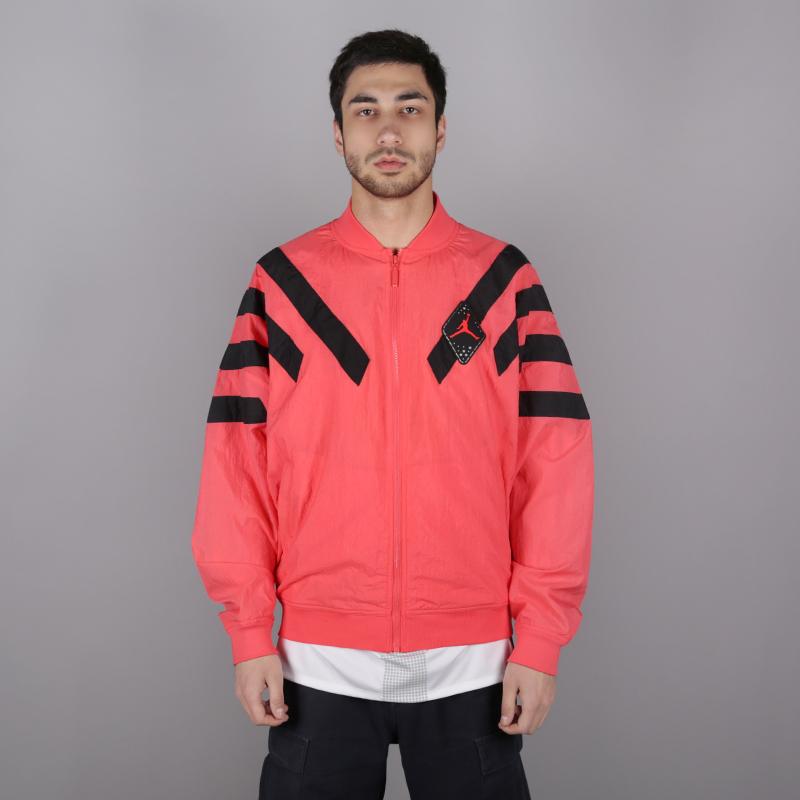 мужскую розовую  куртку jordan aj6 nylon jacket BV5405-850 - цена, описание, фото 1