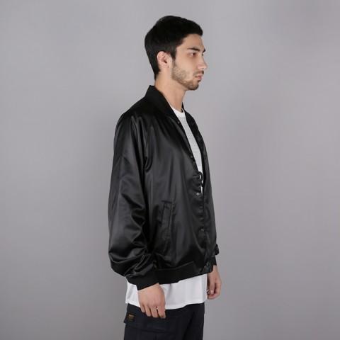 мужскую чёрную  куртку jordan jordan jumpman air stadium AO0444-010 - цена, описание, фото 5