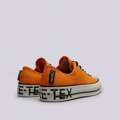 мужские оранжевые  кроссовки converse chuck 70 ox 163228 - цена, описание, фото 4