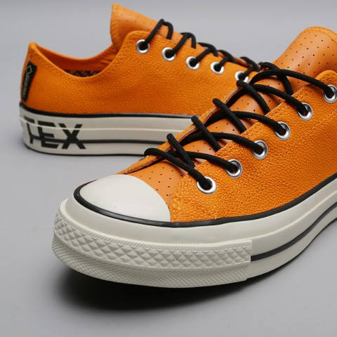 мужские оранжевые  кроссовки converse chuck 70 ox 163228 - цена, описание, фото 5