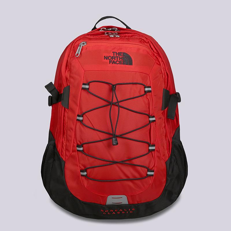 красный, черный  рюкзак the north face borealis classic 27l T0CF9CWU5 - цена, описание, фото 1