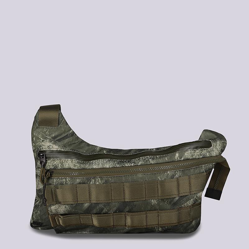 82e98996d978 зеленую сумка через плечо nike profile bag BA6380-395 - цена, описание, фото