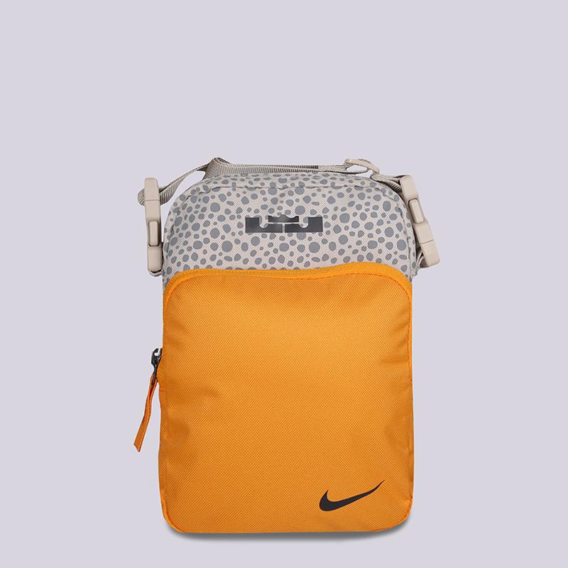 fb6d0291f желтую, бежевую сумка через плечо nike heritage lebron CJ8662-202 - цена,  описание