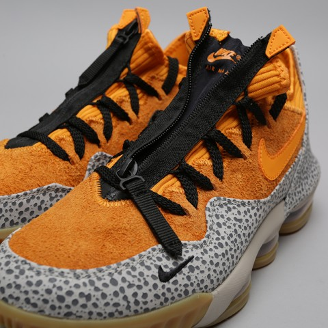 мужские оранжевые  кроссовки nike lebron xvi low ac CD9471-800 - цена, описание, фото 5