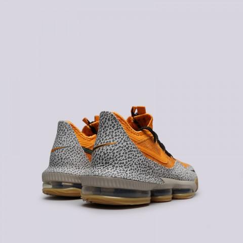 мужские оранжевые  кроссовки nike lebron xvi low ac CD9471-800 - цена, описание, фото 4