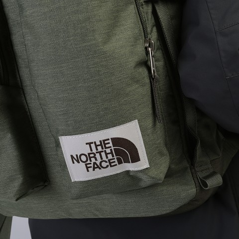 зеленый  рюкзак the north face mini crevasse 14,5l T93G8LBV9 - цена, описание, фото 2