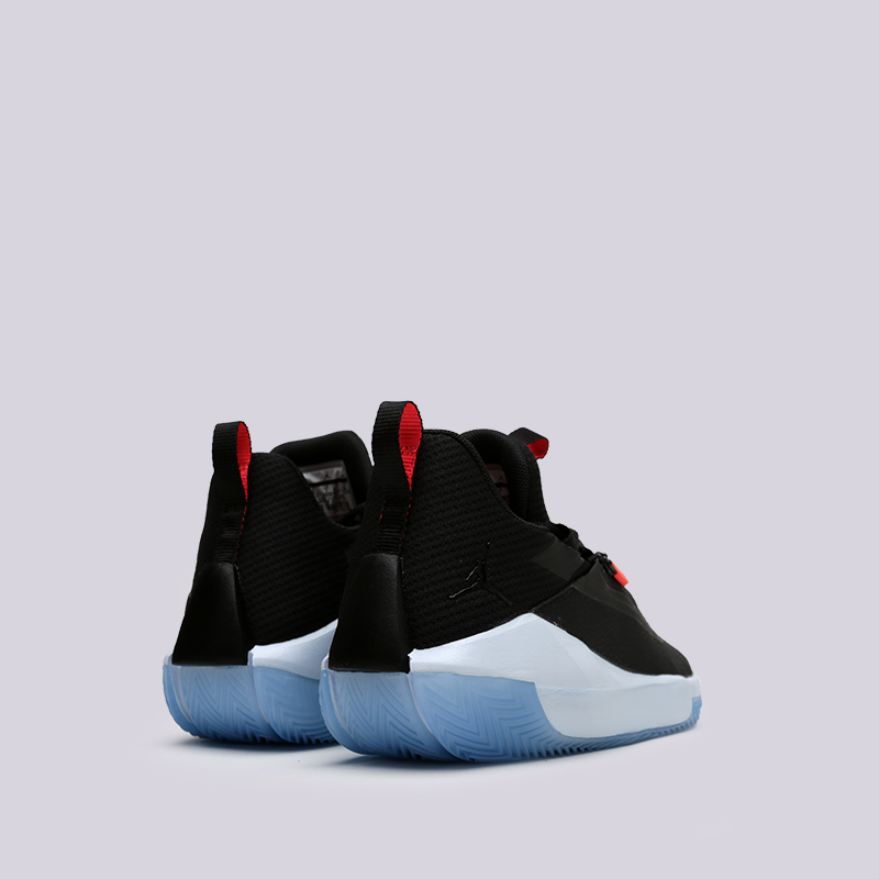 7b319a36 мужские чёрные кроссовки jordan jumpman hustle AQ0397-004 - цена, описание,  фото 4