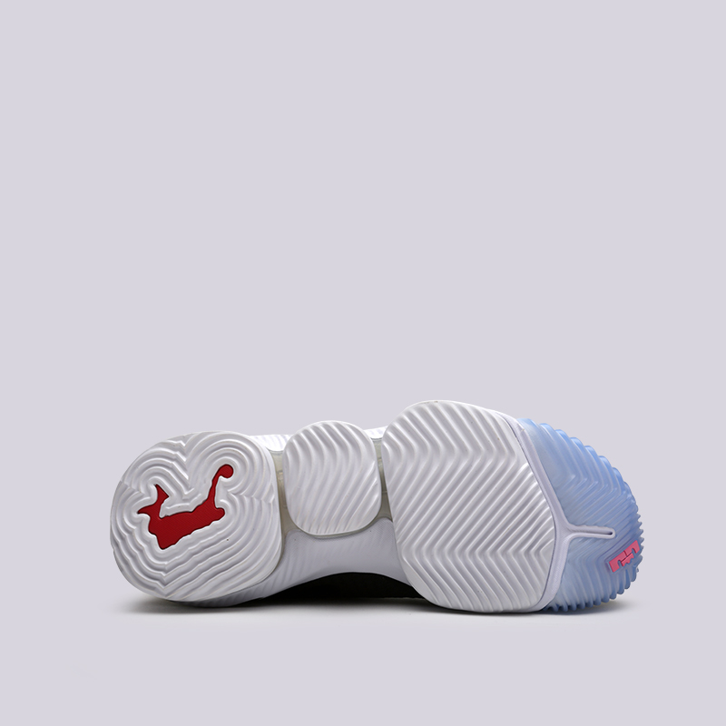 мужские чёрные  кроссовки nike lebron xvi low CI2668-001 - цена, описание, фото 5