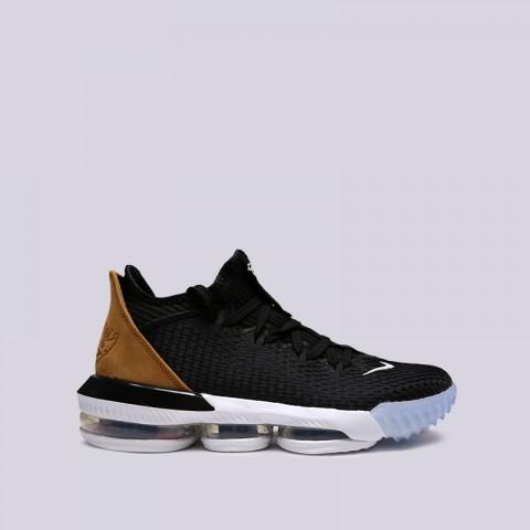 мужские чёрные  кроссовки nike lebron xvi low CI2668-001 - цена, описание, фото 1