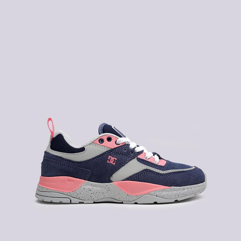 женские мультиколор  кроссовки dc shoes e.tribeka se ADJS200015-BLP - цена, описание, фото 1