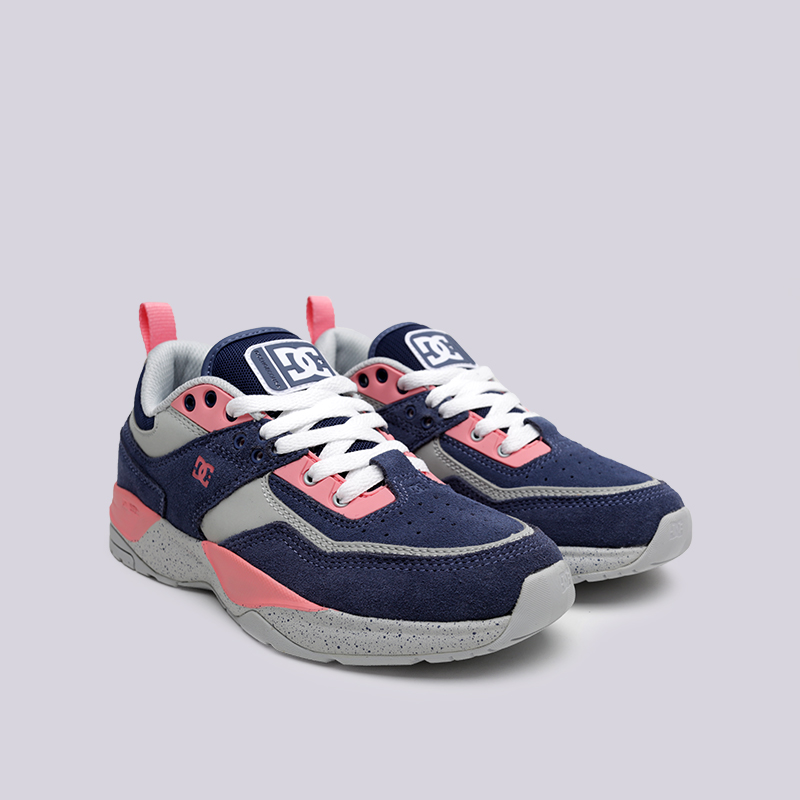 женские мультиколор  кроссовки dc shoes e.tribeka se ADJS200015-BLP - цена, описание, фото 2