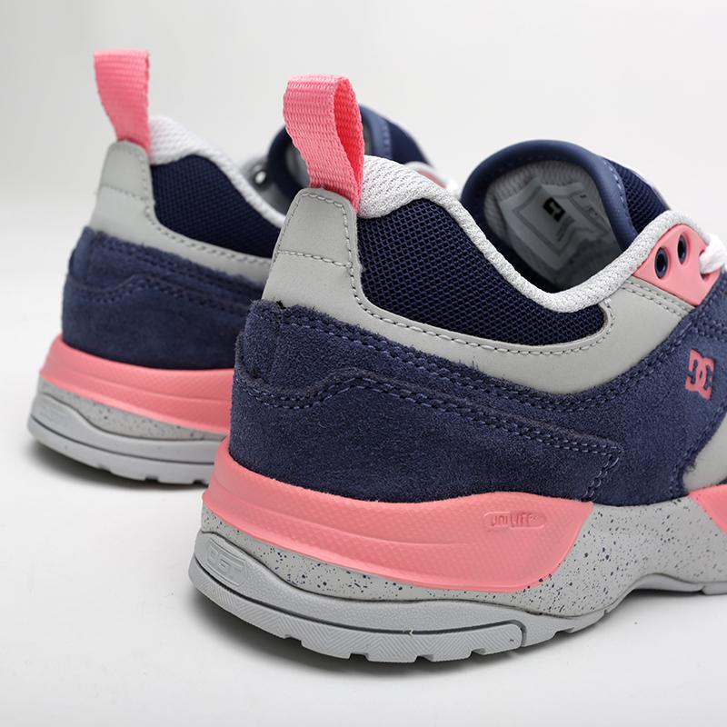 женские мультиколор  кроссовки dc shoes e.tribeka se ADJS200015-BLP - цена, описание, фото 5