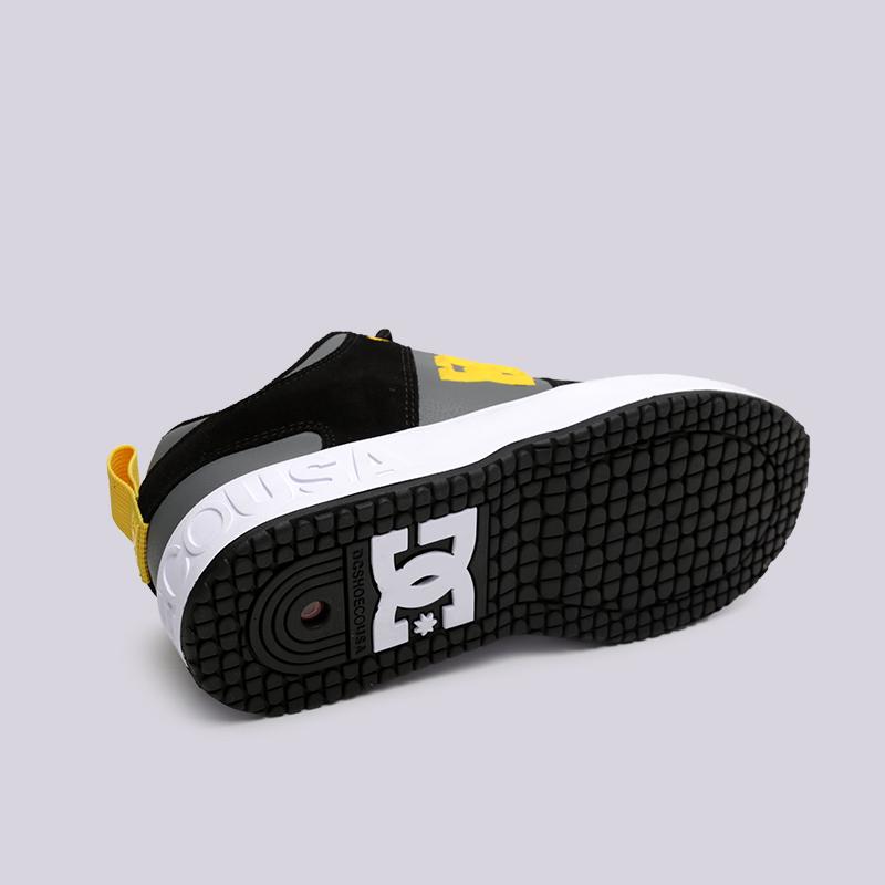 мужские чёрные  кроссовки dc shoes lynx og ADYS100425-XKKS - цена, описание, фото 2
