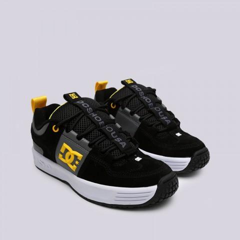 мужские чёрные  кроссовки dc shoes lynx og ADYS100425-XKKS - цена, описание, фото 3