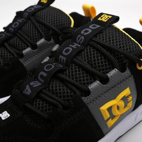 мужские чёрные  кроссовки dc shoes lynx og ADYS100425-XKKS - цена, описание, фото 5