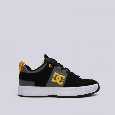 мужские чёрные  кроссовки dc shoes lynx og ADYS100425-XKKS - цена, описание, фото 1