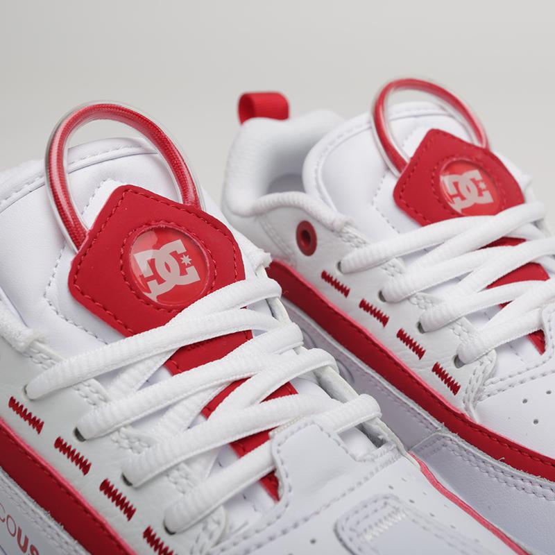 женские белые  кроссовки dc shoes legacy 98 slim ADJS200022-WWT - цена, описание, фото 3