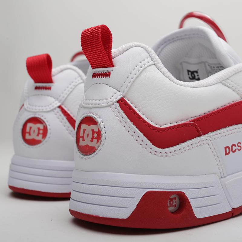 женские белые  кроссовки dc shoes legacy 98 slim ADJS200022-WWT - цена, описание, фото 5