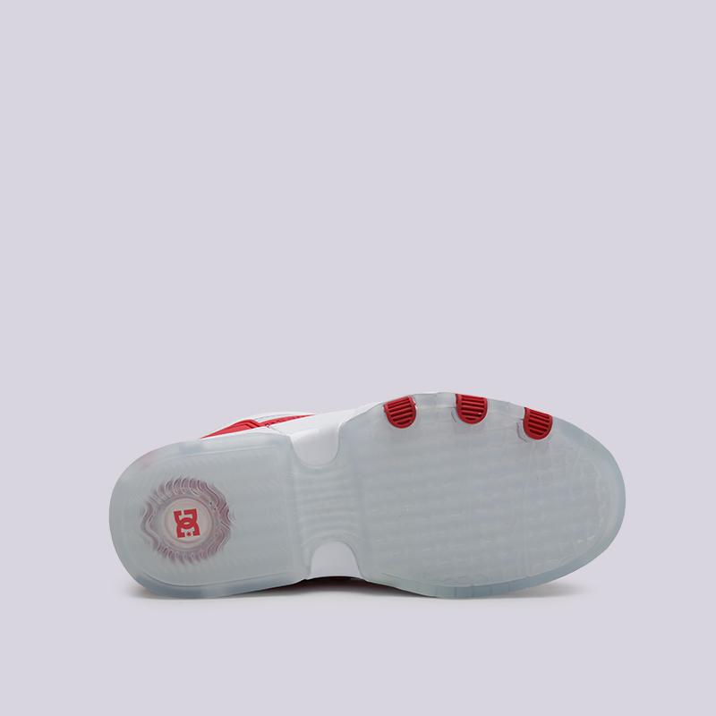 белые  кроссовки dc shoes legacy og ADJS200024-WRD - цена, описание, фото 6