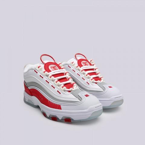 белые  кроссовки dc shoes legacy og ADJS200024-WRD - цена, описание, фото 2