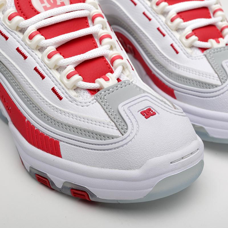 белые  кроссовки dc shoes legacy og ADJS200024-WRD - цена, описание, фото 3