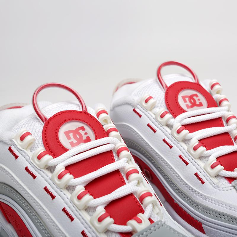 белые  кроссовки dc shoes legacy og ADJS200024-WRD - цена, описание, фото 4