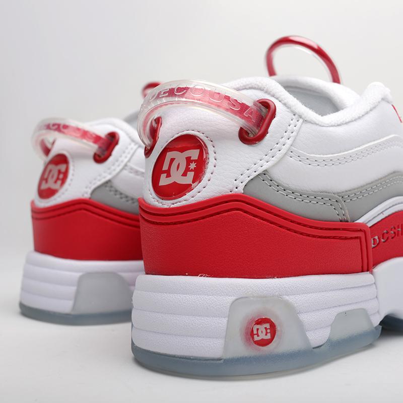 белые  кроссовки dc shoes legacy og ADJS200024-WRD - цена, описание, фото 5