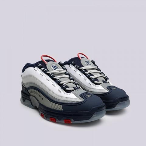 мужские синие  кроссовки dc shoes legacy og ADYS100476-NRD - цена, описание, фото 2