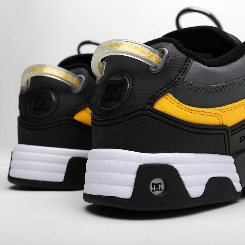 мужские серые, чёрные  кроссовки dc shoes legacy og ADYS100476-XSKY - цена, описание, фото 3