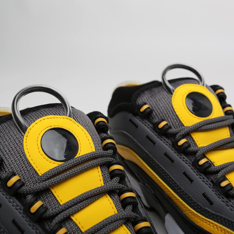 мужские серые, чёрные  кроссовки dc shoes legacy og ADYS100476-XSKY - цена, описание, фото 4