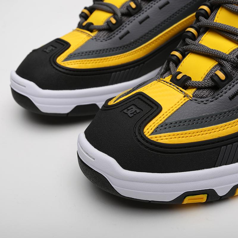 мужские серые, чёрные  кроссовки dc shoes legacy og ADYS100476-XSKY - цена, описание, фото 5