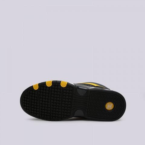 мужские серые, чёрные  кроссовки dc shoes legacy og ADYS100476-XSKY - цена, описание, фото 6